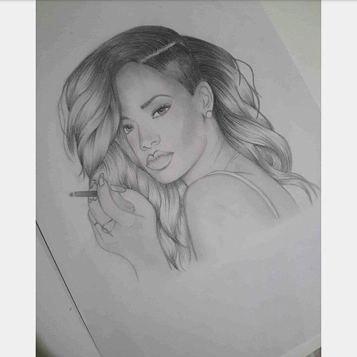 Rihanna by Troisiluigia